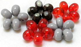 Buckeye Spirit Spacer beads
